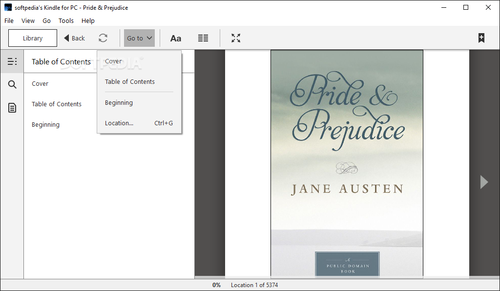 Download Amazon Kindle for PC 1 26 55076