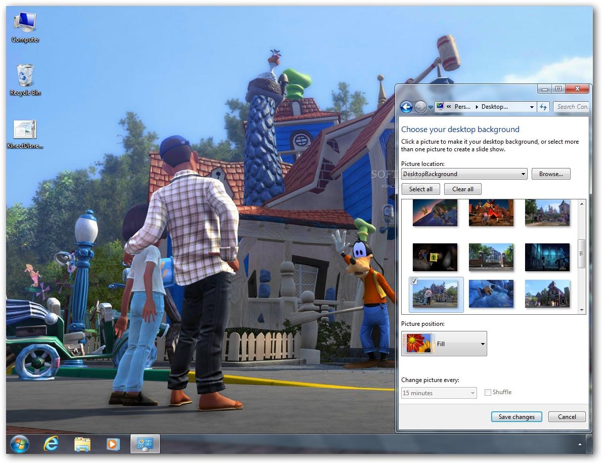 Download Kinect: Disneyland Adventures Theme