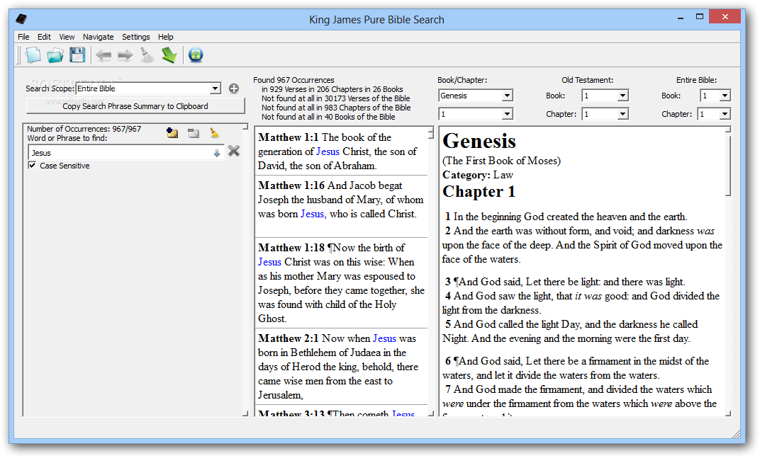 Download King James Pure Bible Search 3 0 0