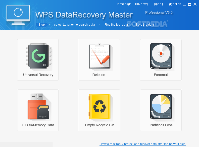Download WPS Data Recovery Master 3 0