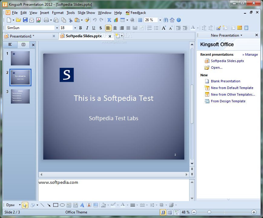 Download Kingsoft Presentation 10205965