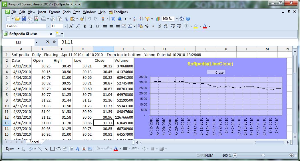 Download Kingsoft Spreadsheets 10 2 0 5965