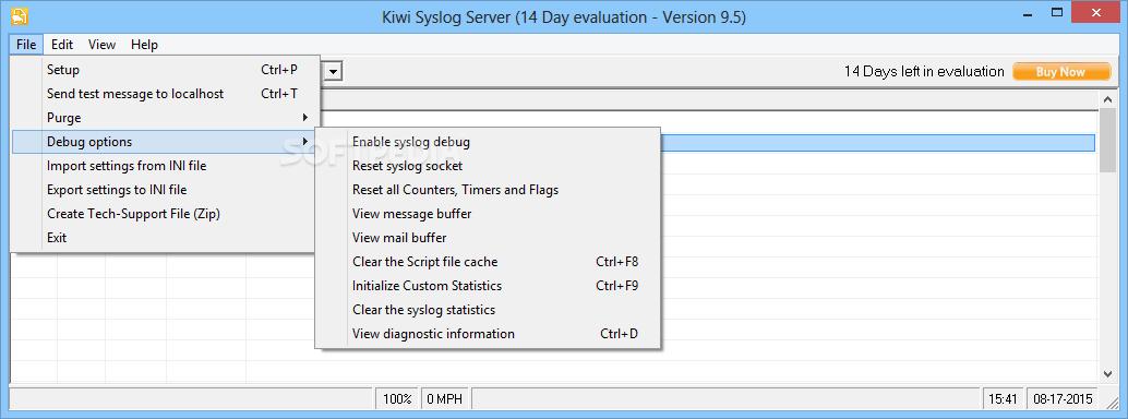 Download Kiwi Syslog Server 9 5 0