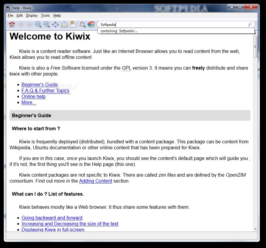 kiwix 0.9