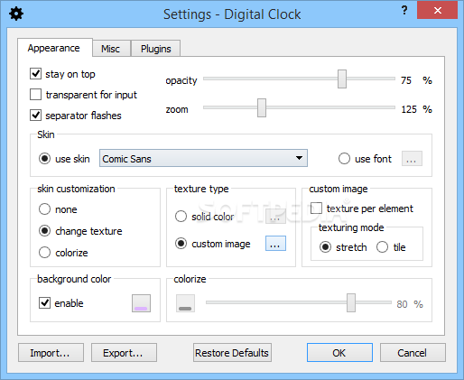 Download Digital Clock 4 7 5