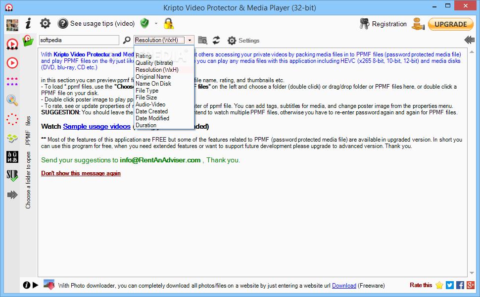 Download Kripto Video Protector & Media Player 4 1 1