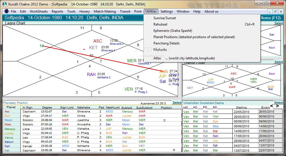 kundli match making software free download full version 2012