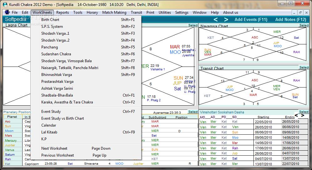 Astrology software 94fbr | Online Astrology Software  2019-02-17