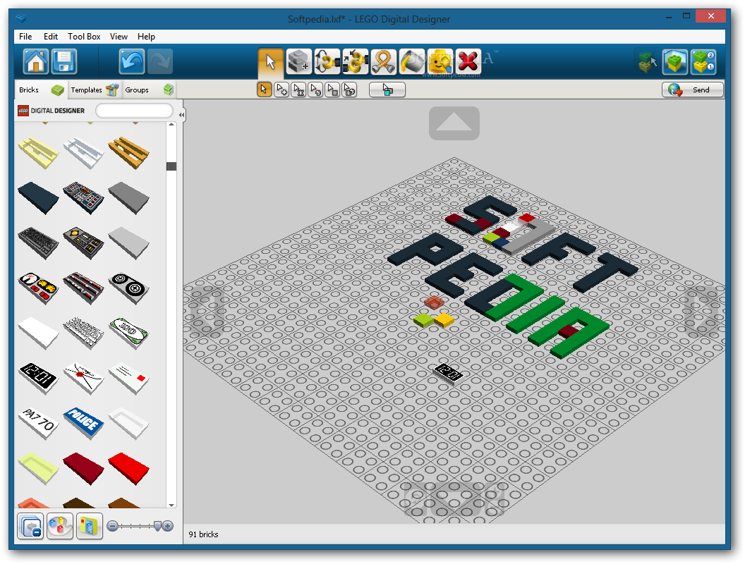 Lego Building Software Gallery