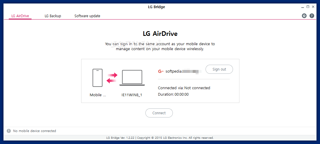 Download LG Bridge 1 2 54