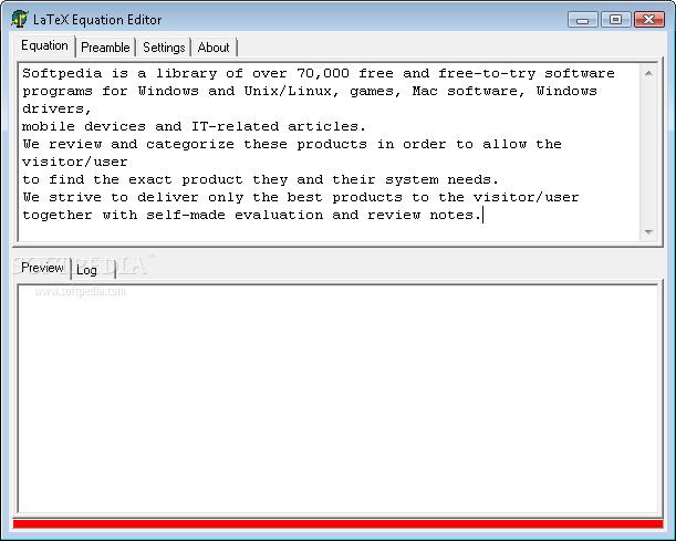Download LaTeX Equation Editor 0 4