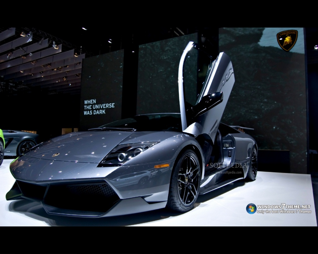 тема lamborghini для windows 7