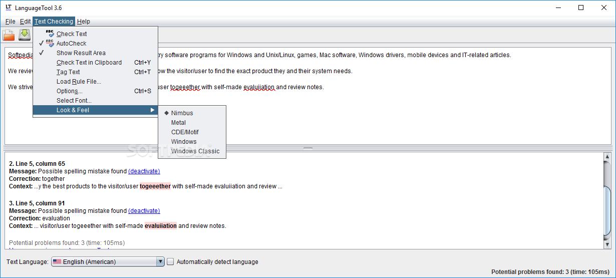 Download LanguageTool 4 6
