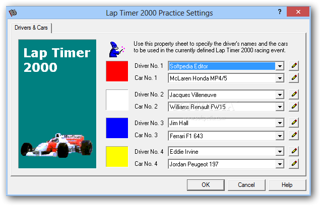Laptimer 2000 >> Download Lap Timer 2000 6 3