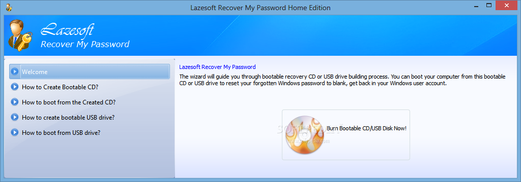 WatFile.com Download Free Lazesoft Recover My Password Home Edition Download