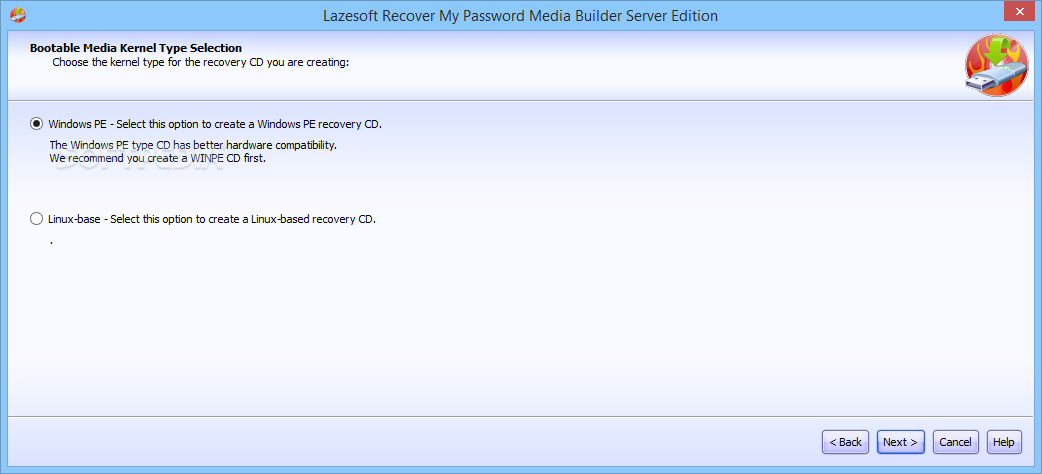 WatFile.com Download Free Lazesoft Recover My Password Server - To actually start the process of