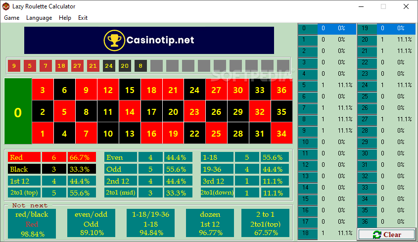 Image result for Roulette Calculator