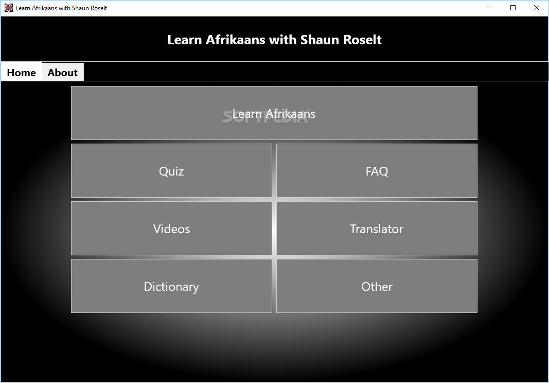 Learn Afrikaans with Shaun Roselt - Screenshot