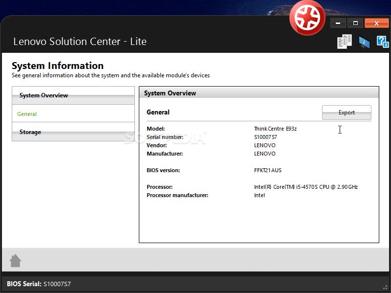 lenovo serial number update utility