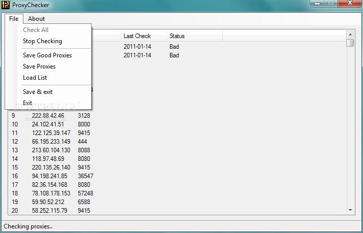 Download ProxyChecker 1 0