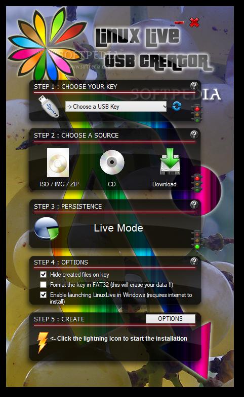 Download LinuxLive USB Creator Portable 2 9 4