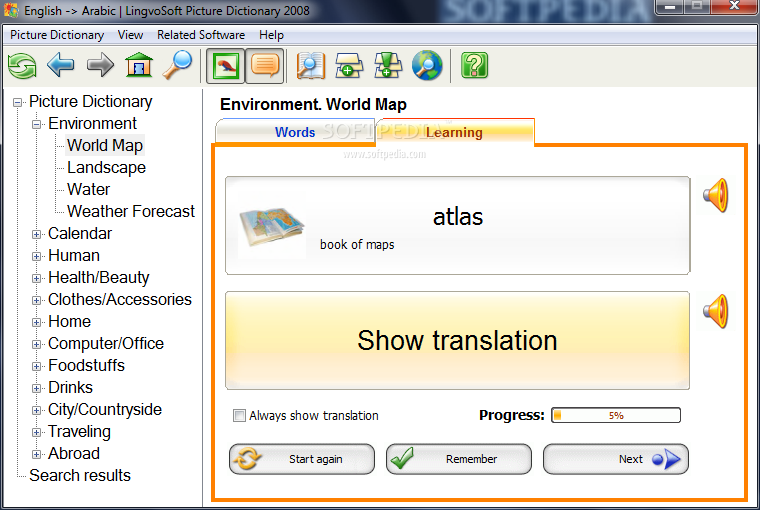 free download arabic learning software full version