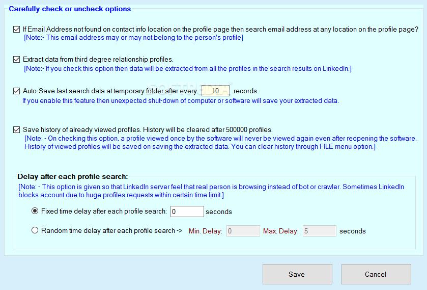 Download LinkedIn Lead Extractor 4 0 2101