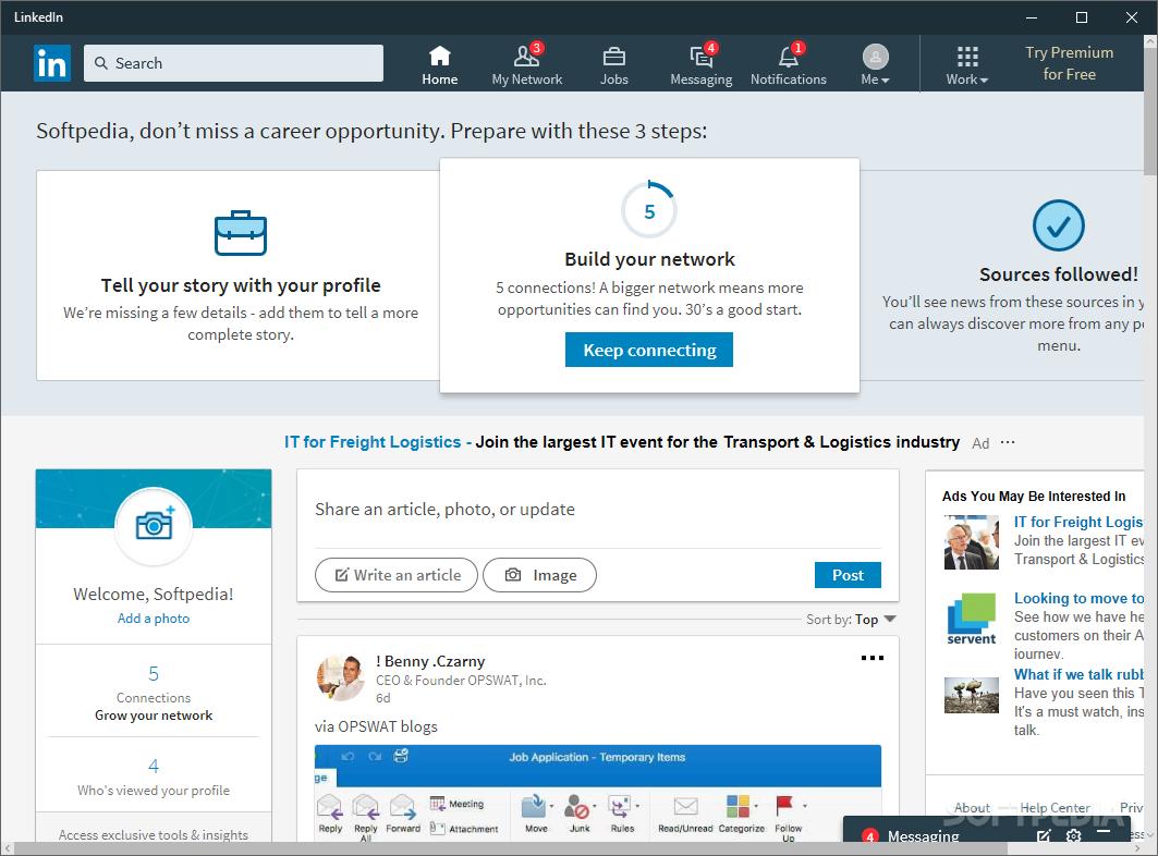 Download LinkedIn 2 1 7098 0