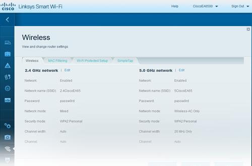 linksys smart wi-fi firmware update