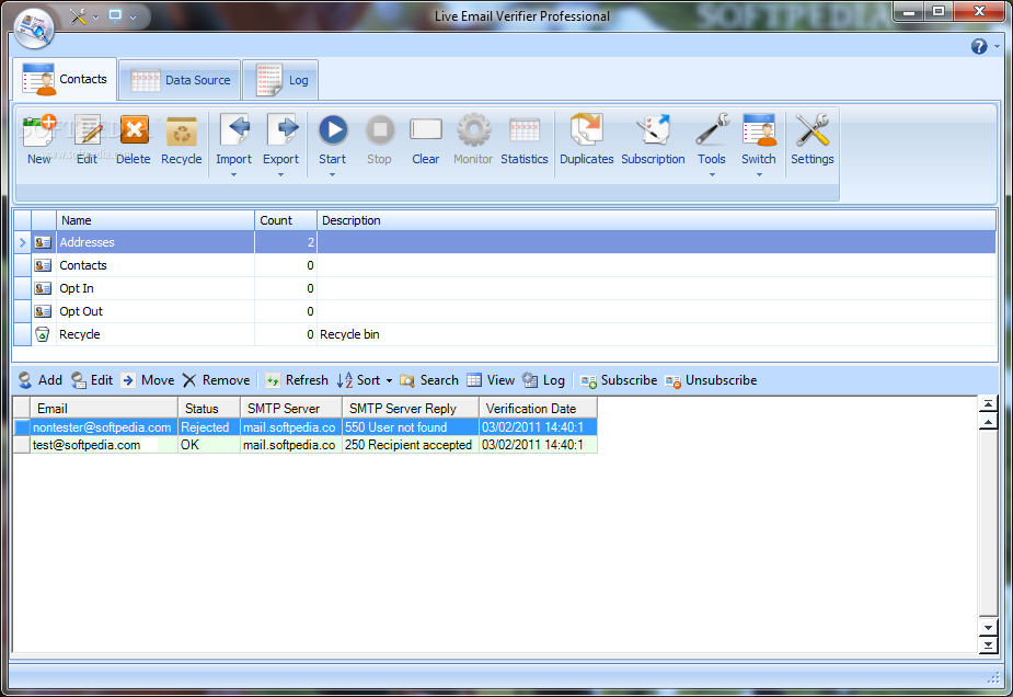 how to keep messages on server in windows live mail