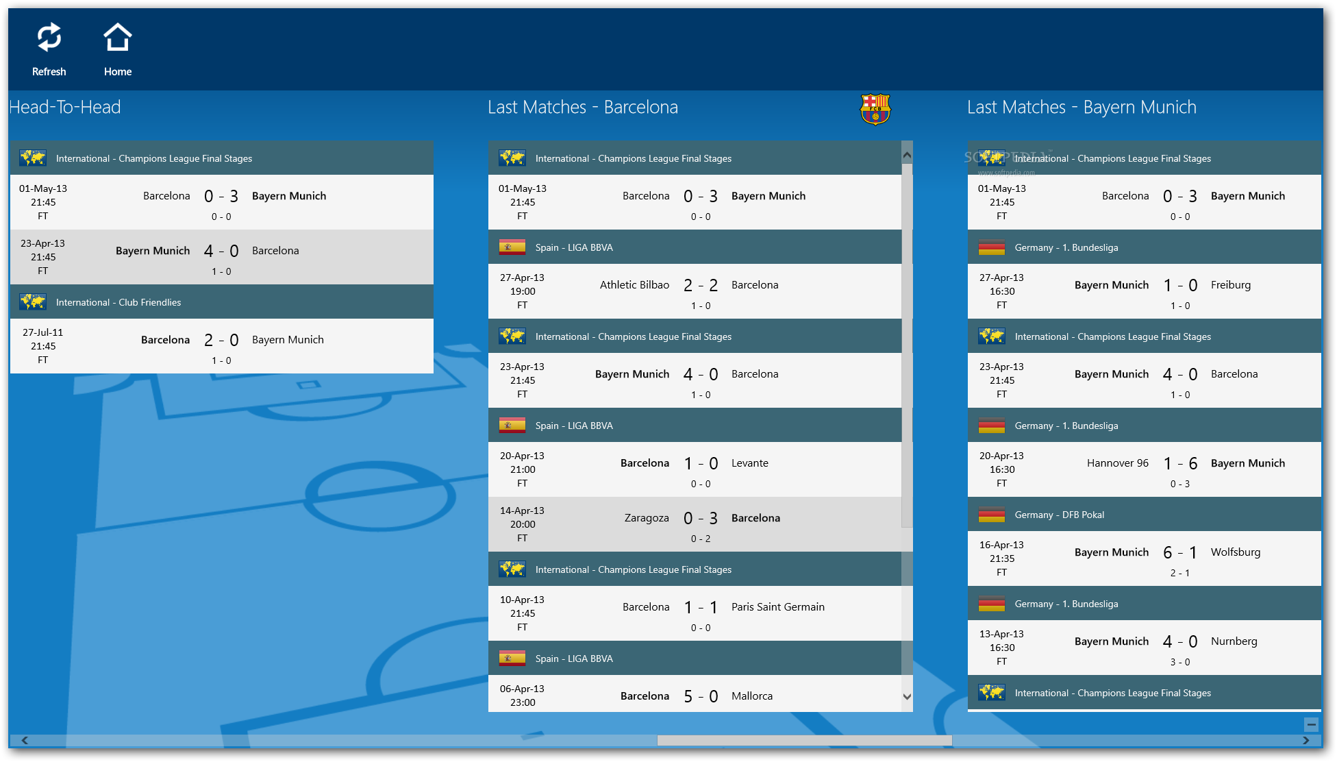 LiveScore SofaScore for Windows 8 Download : LiveScore SofaScore5 from www.softpedia.com size 1952 x 1112 png 155kB