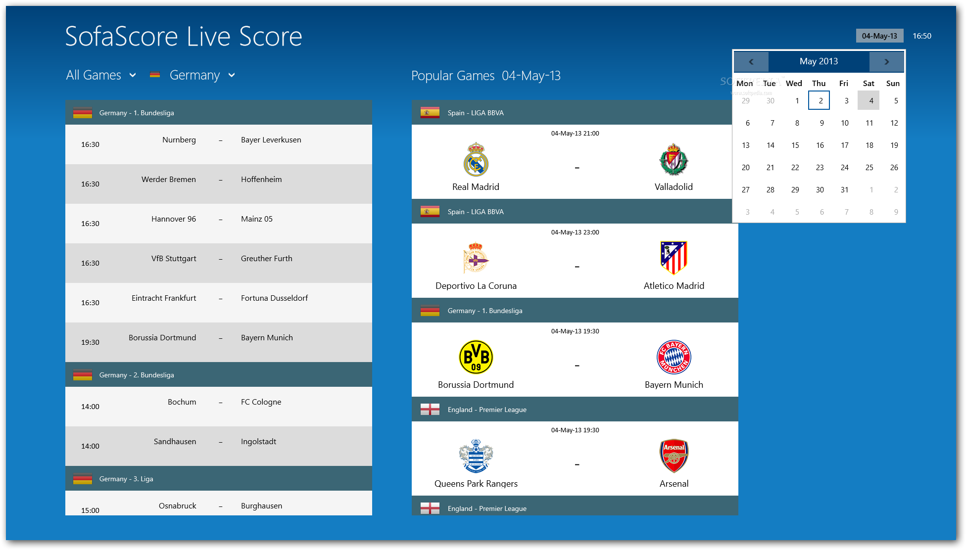 LiveScore SofaScore for Windows 8 Download : LiveScore SofaScore6 from www.softpedia.com size 1952 x 1112 png 150kB