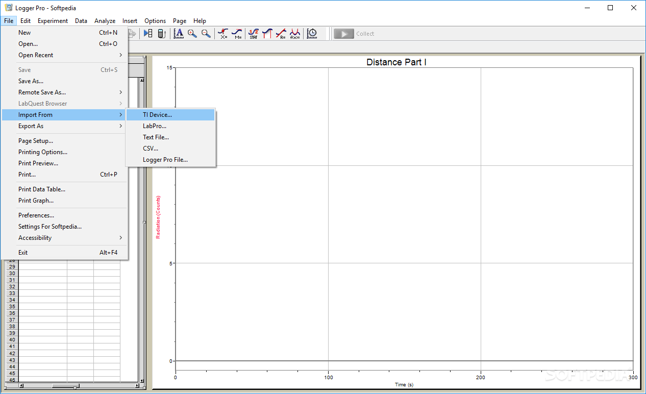 Logger Pro screenshot #1
