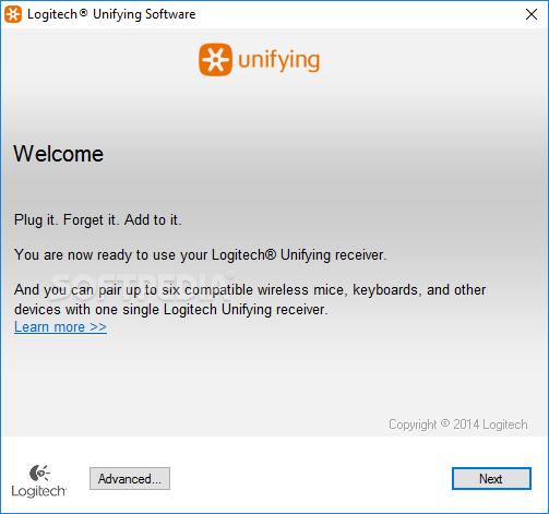 logiciel logitech unifying