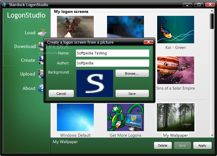 logonstudio para windows 7