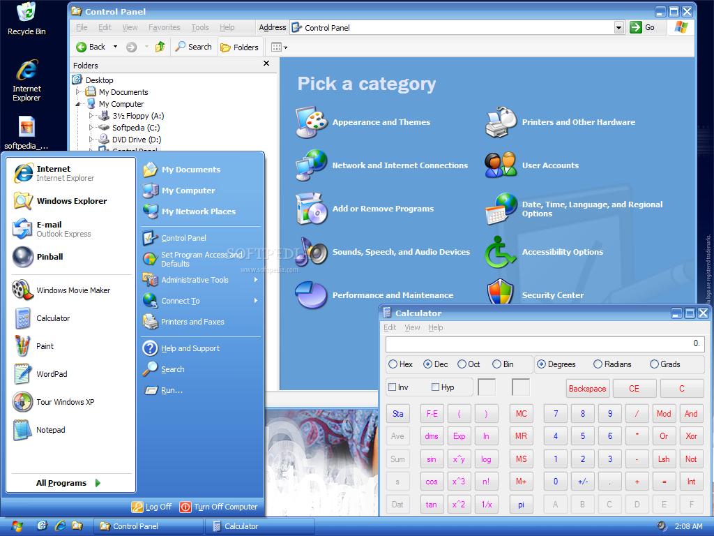 Download windows 8 metro ui inspired windows xp