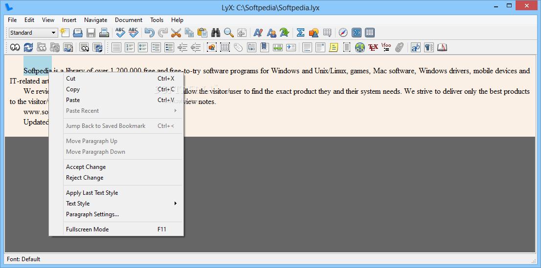 lyx gratuitement pour windows 7