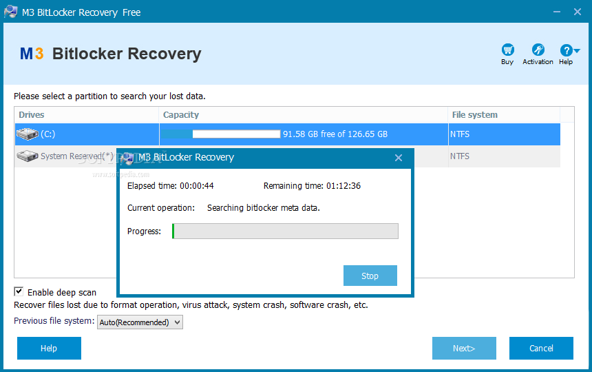 m3 data recovery free review