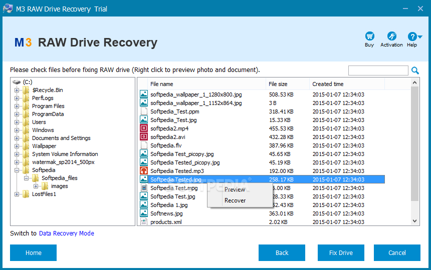 m3 data recovery full version with crack free download
