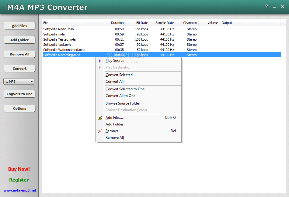 Convert M4A to MP4 video files online in a few seconds