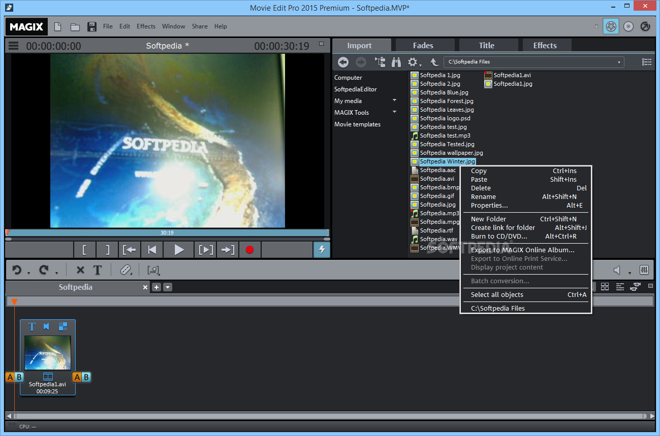 Download Magix Movie Edit Pro Premium 2020 190118