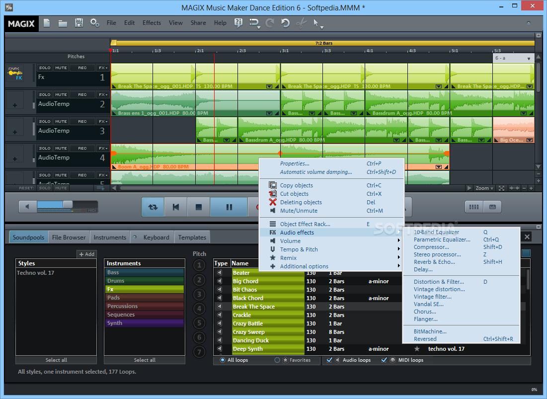 magix music maker trial download