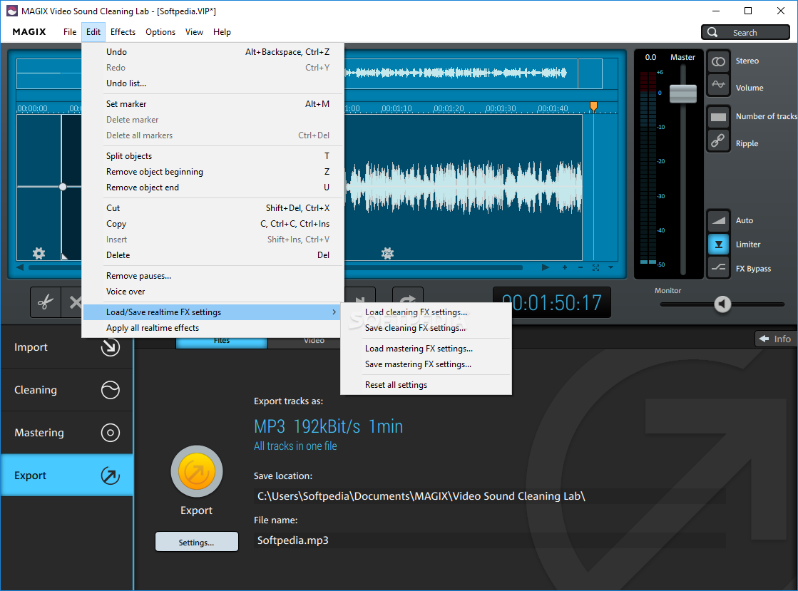 Download MAGIX Video Sound Cleaning Lab 22.2.0.53