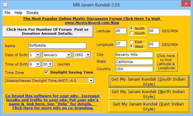 Free online kundali by date of birth