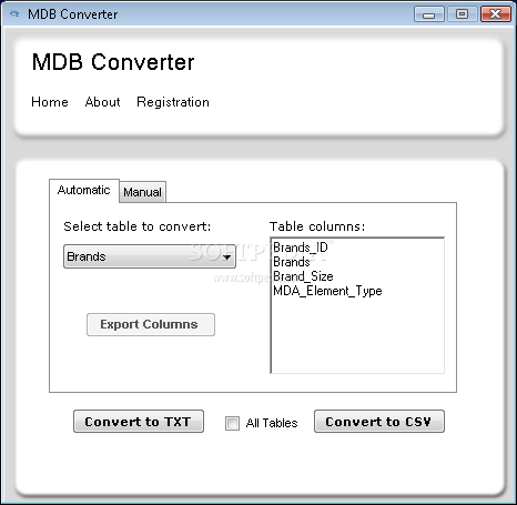convert pdf to access database free
