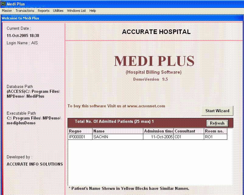 Download MEDI PLUS - Medical bill generator