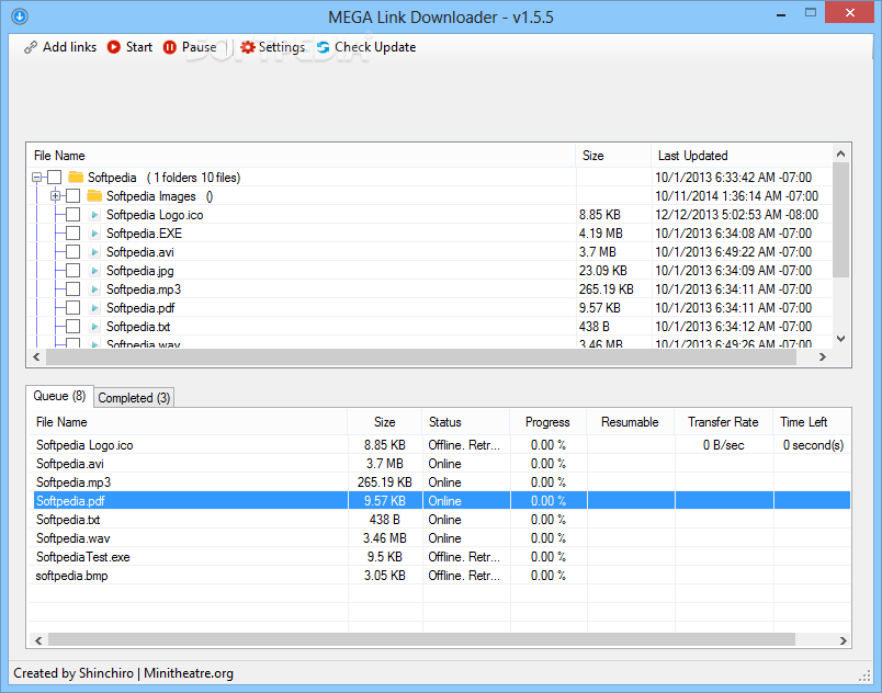 Download MEGA Link Downloader 2 8 9