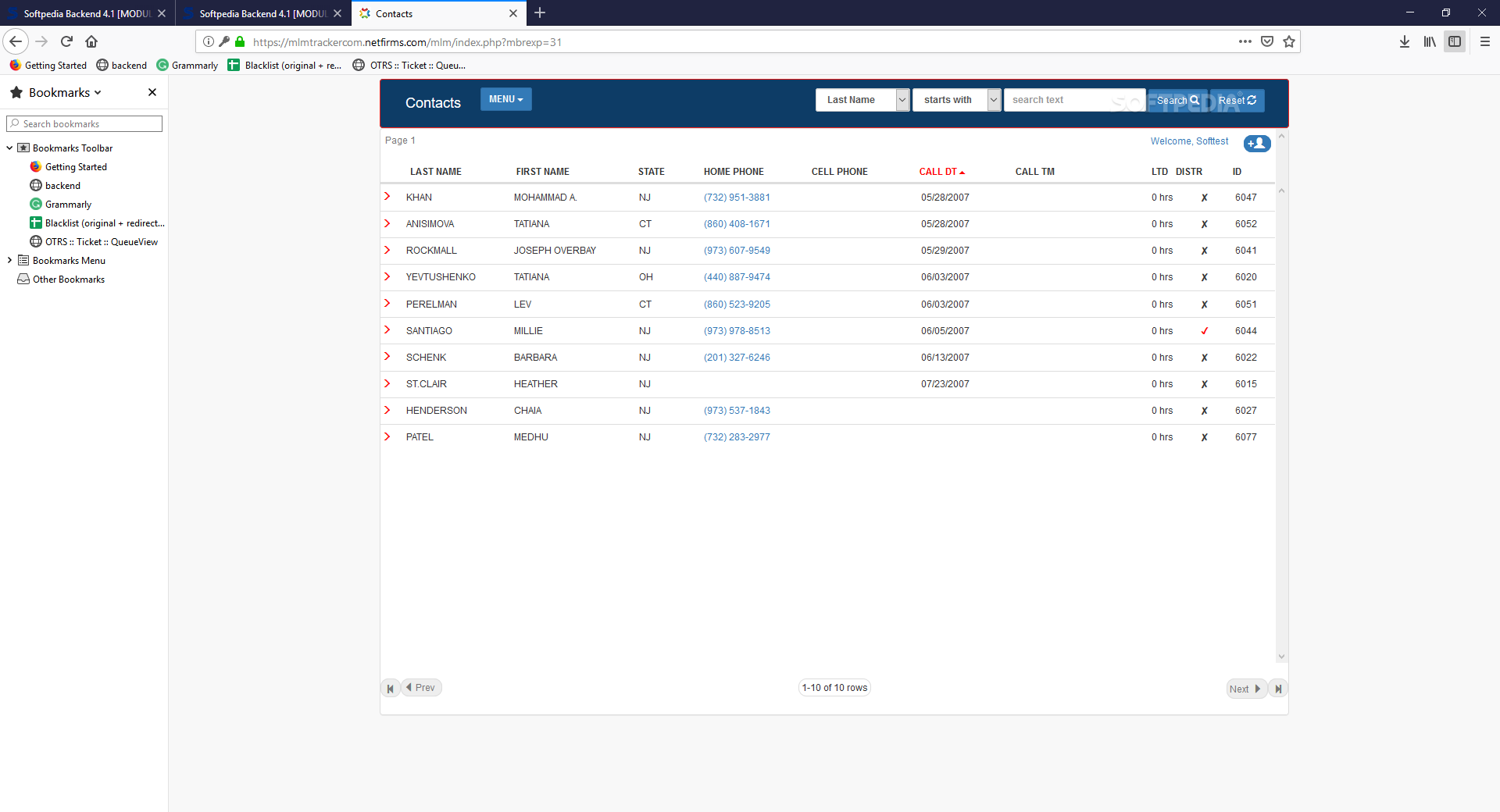 Download Mlm Distributor Customer Tracking System 2 0