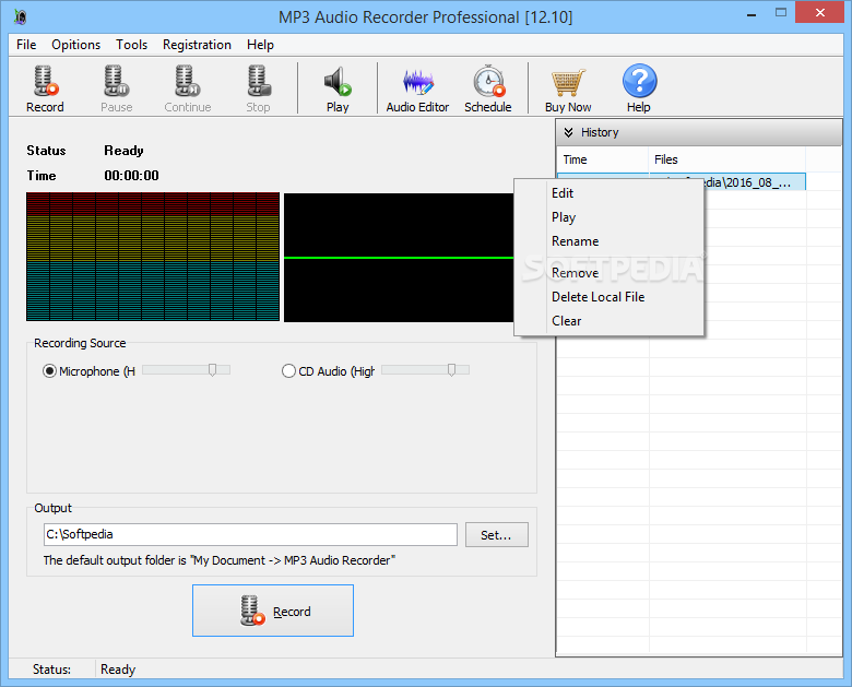 Download Mp3 Audio Recorder Professional 12 10