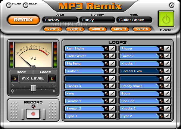 Download MP3 Remix for Windows Media Player 3.621